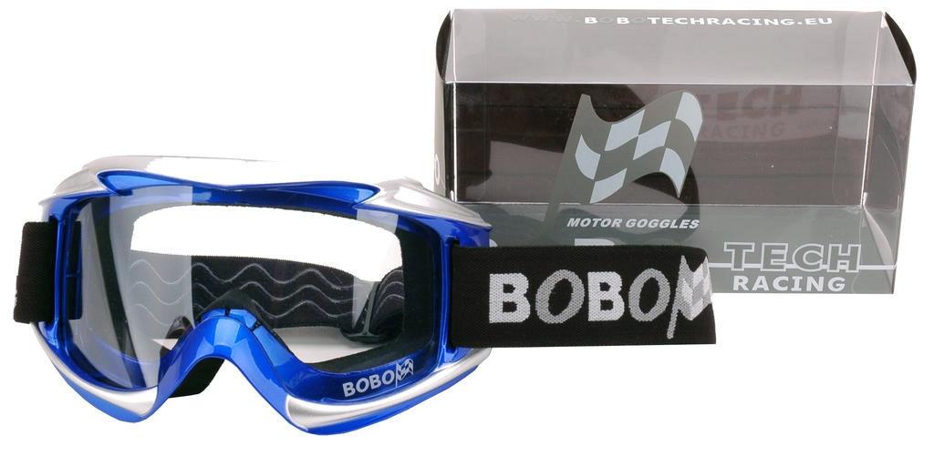 Crossbril Race Bobotech blauw