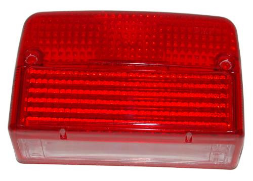 Achterlichtglas Tomos A35 nieuw type.