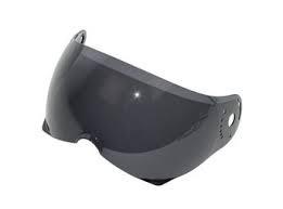 Viezier voor een BKR helm, smoke.