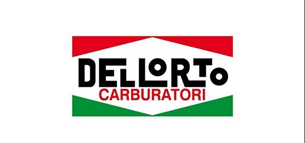 Sticker Dellorto carburateur klein (10cm x 5cm)