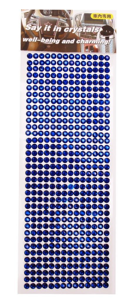 ''Diamant / kristallen'' stickers, Diverse kleuren.