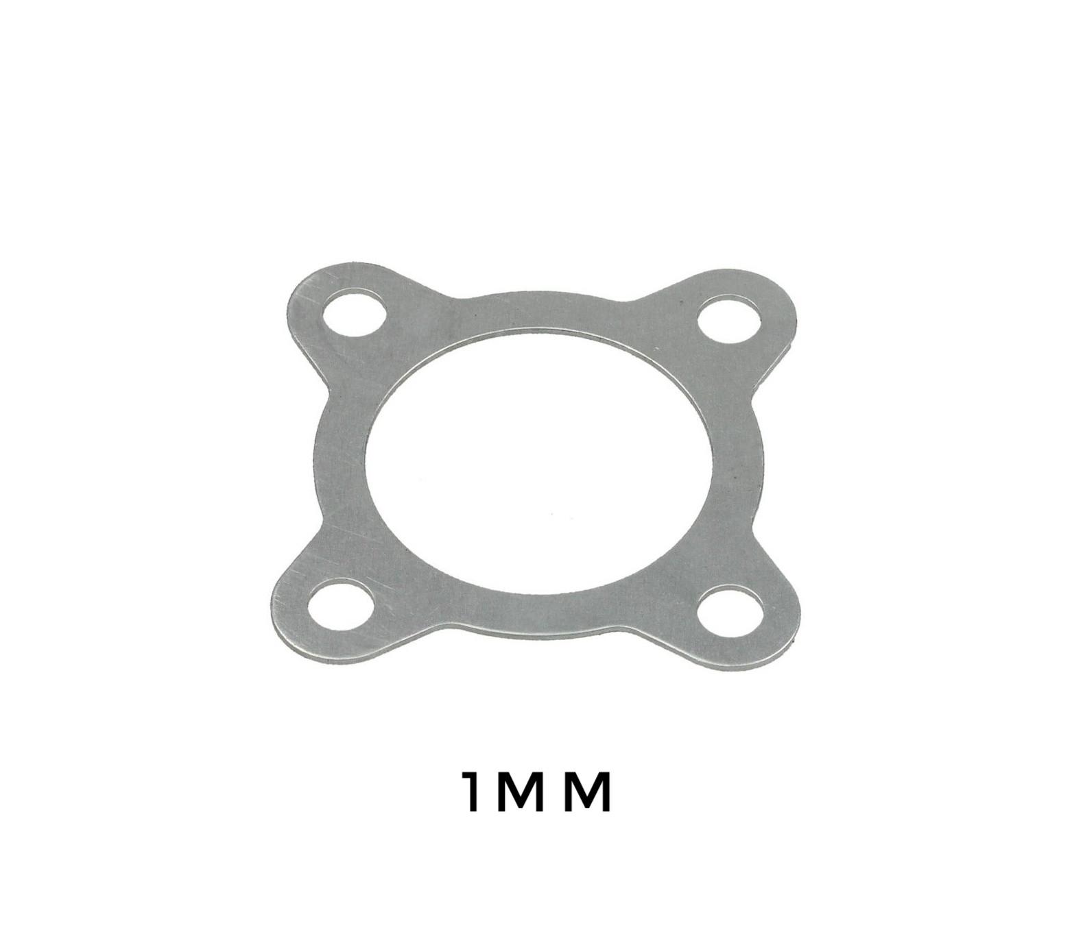 1mm Koppakking ALUMINIUM Tomos A35 voor de 50cc (38mm) cilinder.