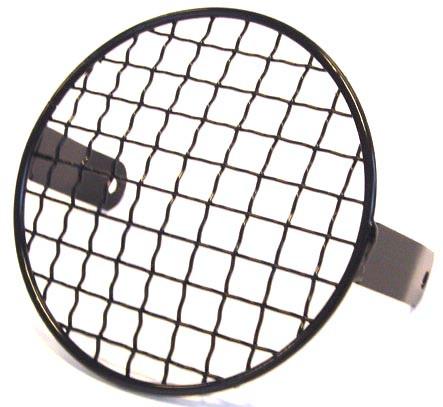 Koplamprooster voor de ronde Tomos koplamp  (ZWART of CHROOM)
