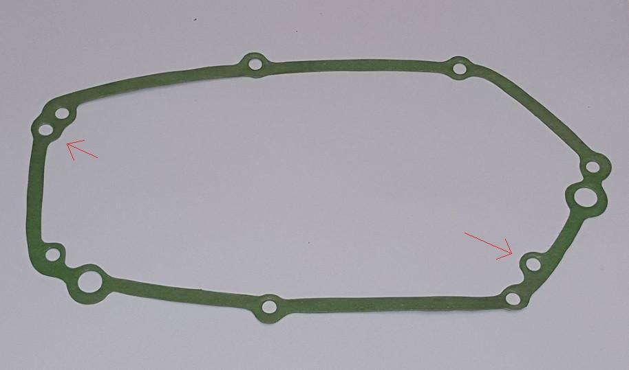 Koppelingsdeksel pakking. Tomos a35 / a55 (OUD TYPE)