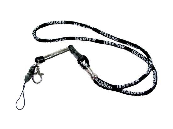 Malossi Keycord, sleutelhanger in het zwart