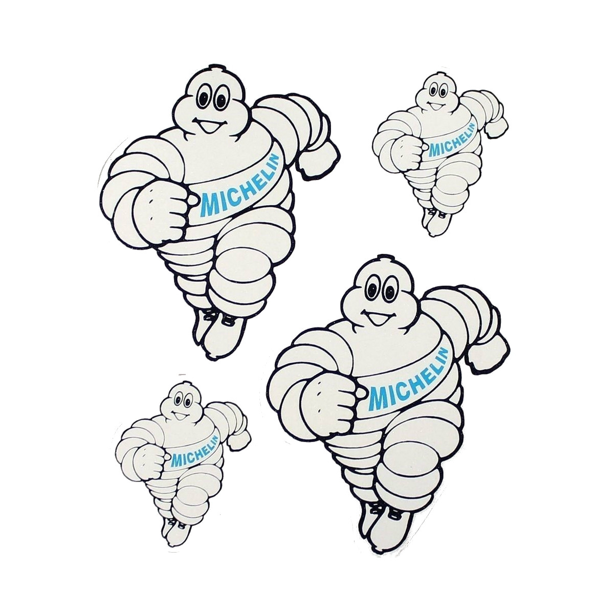 Stickers Michelin 4 delig