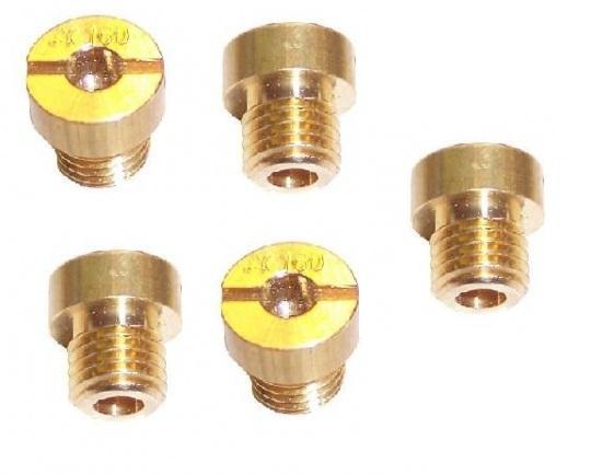 Sproeiers voordeel set 5 stuks voor de Dellorto SHA carburateurs. Tomos A35