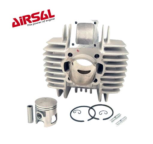 Airsal / Eurokit cilinder.  Aluminium met Nicasil wand. 50CC / 38MM.