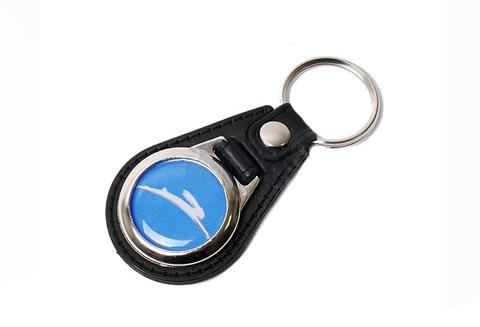 Tomos sleutelhanger blauw of zwart