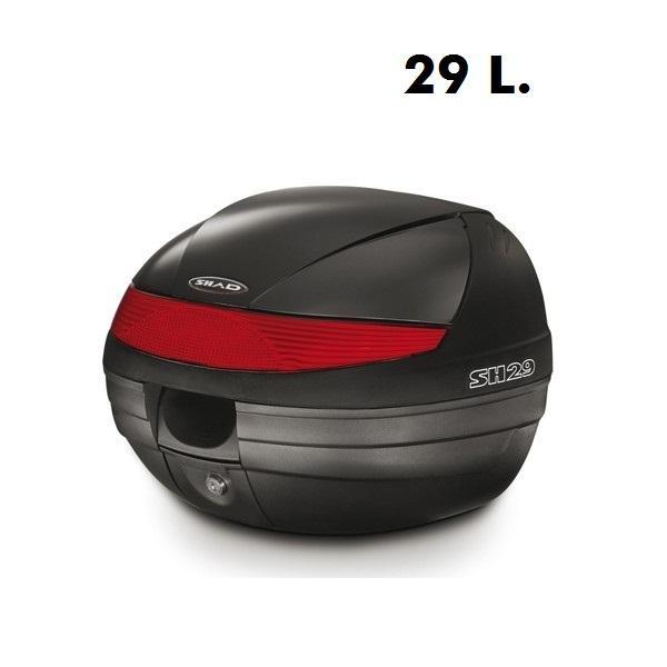 Koffer Shad. Diverse maten voor uw scooter of bromfiets.
