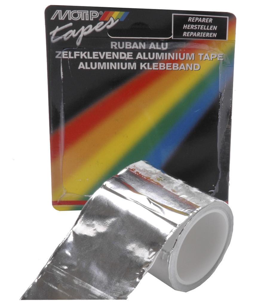 Aluminium uitlaat-reparatie tape