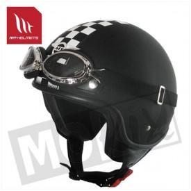 Helm MT Custom-Flag Kids Zwart
