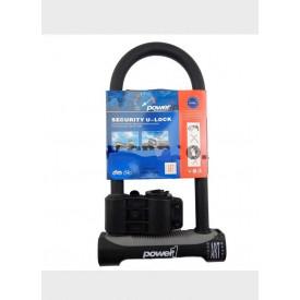 Power 1 U-Lock beugelslot met ART  4 keuring