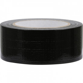 Duct tape Zwart 25 meter / 50mm