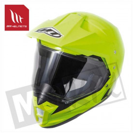 Helm MT Synchrony Dou Sport Fluor geel