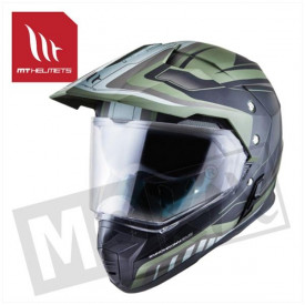 Helm MT Synchrony Duo Sport Tourer Groen