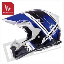 Helm MT Endurance Zwart/Blauw
