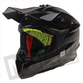 Helm MT Falcon Solid Glans Zwart