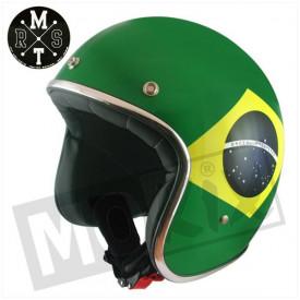 Helm MT Le Mans Flag Brasil