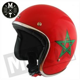 Helm MT Le Mans Flag Morocco