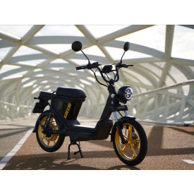 AGM Goccia E-Scooter zwart goud