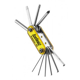 IceToolz multi-tool 95A3, Amaze-10 10-delig, geel