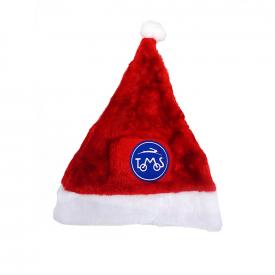 Kerstmuts met luxe logo Tomos