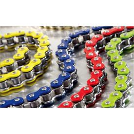 Ketting 415 met 122 schakels in diverse kleuren