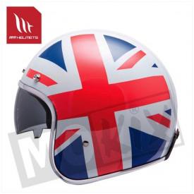Helm MT Le Mans sv flag UK kids