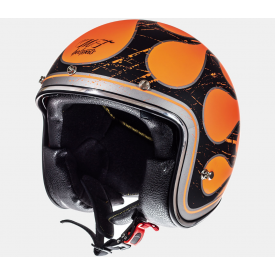 Helm MT Le Mans SV Flaming. Diverse Maten.