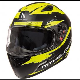 Helm MT Vapor Geel/zwart. Diverse maten.