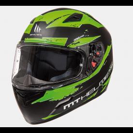 Helm MT Vapor Groen/zwart. Diverse maten.