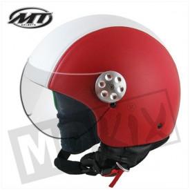 Helm MT Retro Leer Italia