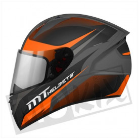 Helm MT Stinger Divided Oranje