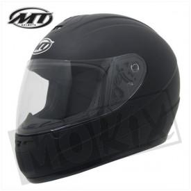 Helm MT thunder 2 Mat Zwart kids