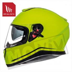 Helm MT Thunder Sv Fluor Geel