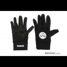 Tomos handschoenen met logo, bediening smartphone.