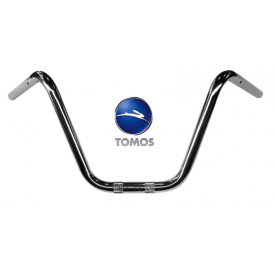 Stuur Tomos chopper Ape hanger chroom 22mm
