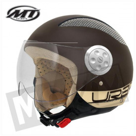 Helm MT Gauzy Bruin Promo