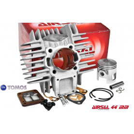 Cilinder kit Airsal / Eurokit Tomos a35. 65cc / 44mm.