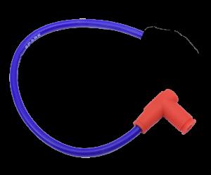 Bobotech Racing bougiekabel + kap blauw
