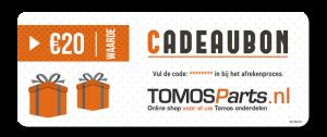 Cadeaubon Tomos-Parts.nl
