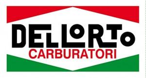 Sticker Dellorto carburateur groot