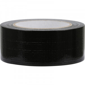 Duct tape Zwart 50mm