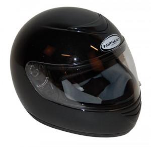Integraal helm Tornado zwart, diverse maten