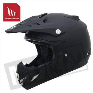 Helm kids mx-2 mat zwart