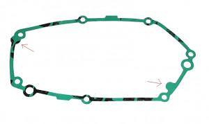 Koppelingsdeksel pakking Tomos A35 / A55  (NIEUW TYPE)