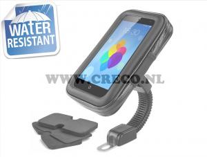 Smartphone / navigatie houder tot 5,5 inch waterdicht