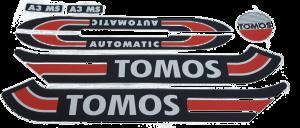 Stickerset Tomos standard A3 A35 S25 / Retro