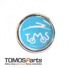 Tomos Pin Speld Button klein 2cm met logo